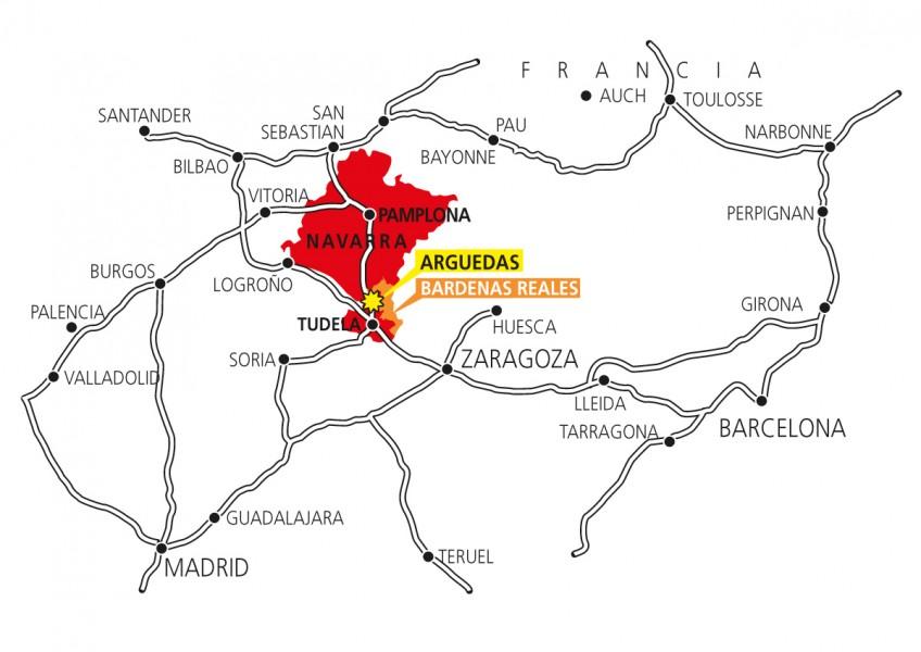 Hotel-Camino-Mapa